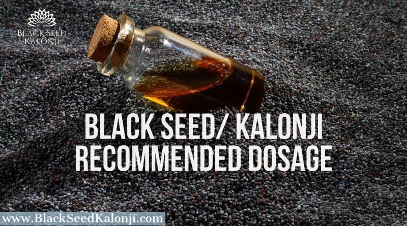 Black Seed Kalonji Dosage img