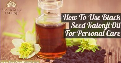 Black Seed Kalonji Personal Care