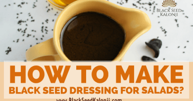 Black Seed Kalonji Salad Dressing