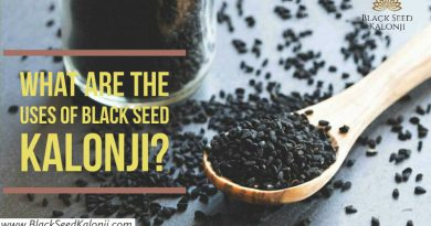 Black Seed Kalonji Uses