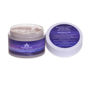 Rhassoul Clay & Black Seed Oil Face Mask – 100ml Image