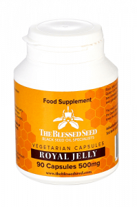 Royal Jelly Vegetarian Capsules – 90x500mg Image