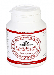 STRONG Black Seed Oil Capsules – 90 x 500mg Image