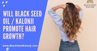 Will Black Seed Oil Kalonji promote hair growth